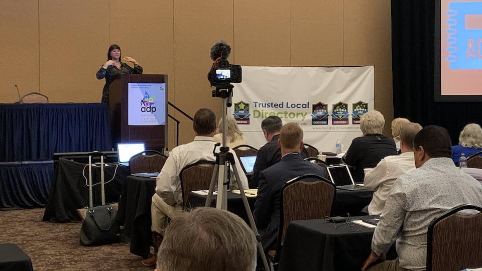 Bernadette Coleman, 2020 ADP Annual Convention