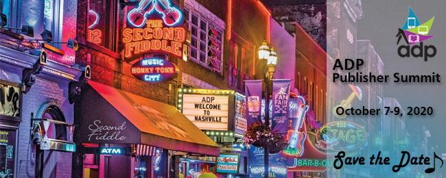 ADP 2020 Publisher Summit   Nashville, TN