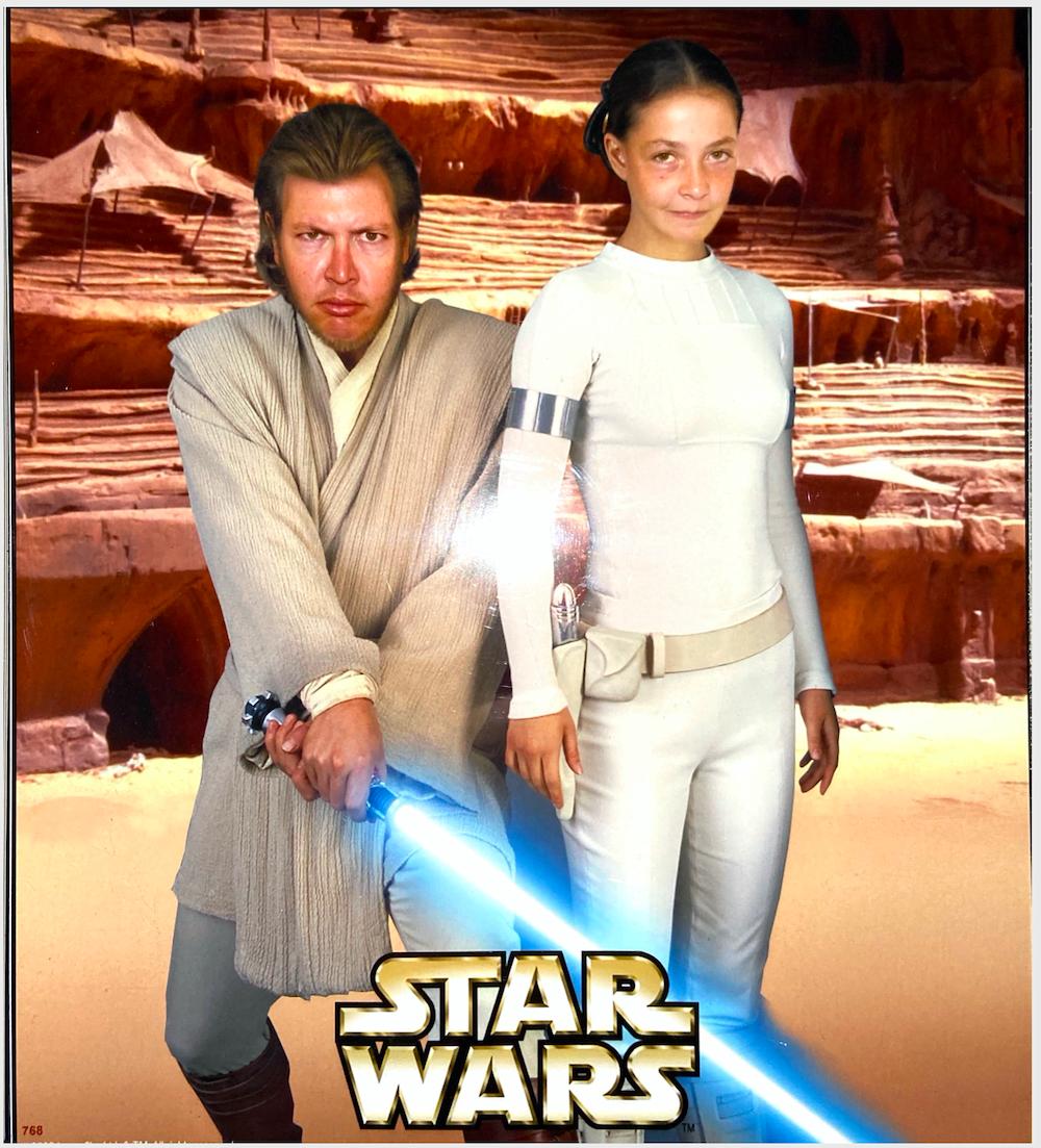 Andrew Palmer & Wife - Star Wars